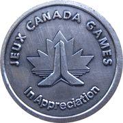 Medal - 89 Games Canada Games Appreciation – obverse
