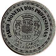 1 Céntimo (San Carlos de la Rapita) – obverse