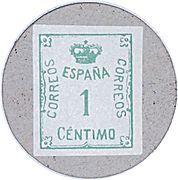 1 Céntimo (San Carlos de la Rapita) – reverse