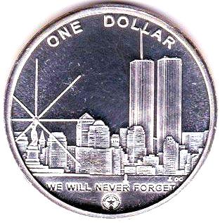 1 dollar freedom tower exonumia numista - Coin de finition plinthe ...