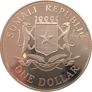 1 Dollar (Olympic Games) – obverse