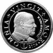 1 Dollar (Pope John Paul II) – reverse