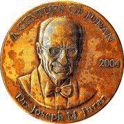 Medal - Juran Institute – obverse