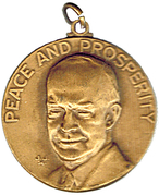 Medal - Dinner with Ike – obverse