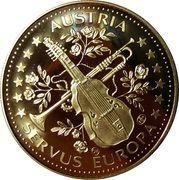 ECU - Servus Europa (Robert Edler von Musil) – reverse