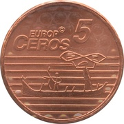 5 Europ Ceros (Norway & Faroe Islands Euro Fantasy Token) – reverse