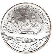 1 Dollar (Battle of Fallen Timber) – reverse