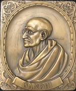 Medal - Gandhi – obverse
