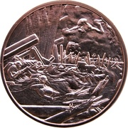 Medal - Canada Remembers (D-Day, The Assault) – obverse