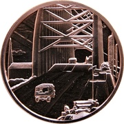 Medal - Canada Remembers (The Nijmegen Bridge, Holland) – obverse