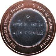 Medal - Canada Remembers (The Nijmegen Bridge, Holland) – reverse