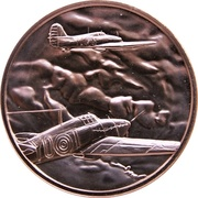 Medal - Canada Remembers (We Flew with the Heroic Few) – obverse