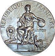 Medal - 4 E Exposition Internationale d'Economie Domestique – obverse