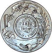 Medal - 4 E Exposition Internationale d'Economie Domestique – reverse