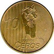 10 Xeros Ceros (Norway Euro Fantasy Token) – reverse