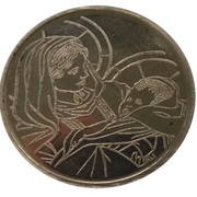 Token - Mary, mother of Jesus – obverse