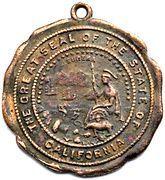 Medal - California Eureka – obverse