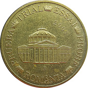 20 Cent (Romania Euro Fantasy Token) – obverse