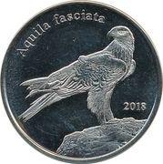 1 Pound (Bonelli's eagle) – reverse