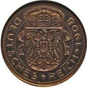 25 Pfennig (Trial Strike) – obverse