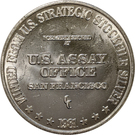 1 oz Silver (US Strategic Stockpile Type 2) – obverse