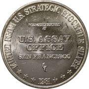 1 oz Silver (US Strategic Stockpile Type 2) -  obverse