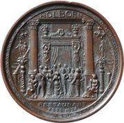 Holborn Restaurant Presentation Medal – obverse