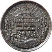 Holborn Restaurant Presentation Medal – reverse