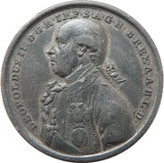 Medal - Crowning of Leopold II – obverse