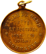 Medal - Leopold III (Festival of Ghent) – reverse