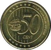 50 Cent (Cartago Fantasy Issues) – reverse