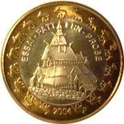 1 Europ (Norway Euro Fantasy Token) – obverse