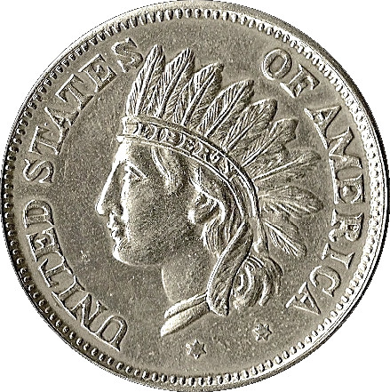 1 Dollar Indian Head