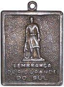 Medal - Lembrança do Rio Grande do Sul – reverse