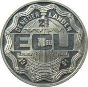 2½ ECU - Beatrix (Desiderius Erasmus) -  obverse