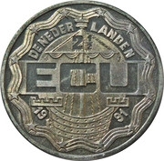 2½ ECU - Beatrix (75th Four-Day-March Nijmegen) -  obverse