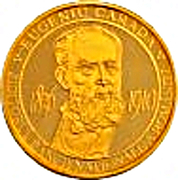 Eugeniu Carada - founder of the National Bank of Romania -  Gold – obverse
