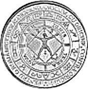Eugeniu Carada - founder of the National Bank of Romania - Silver – reverse