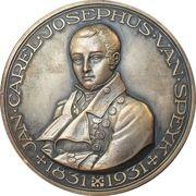 Medal - Lieutenant Jan Carel Josephus van Speyk – obverse