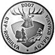 Silver medal dedicated to the Hunting Museum in Posada – reverse