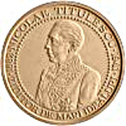 125th anniversary of birth of diplomat Nicolae Titulescu - Tombac – obverse