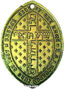 Medal - Jews Conversion to Christianity – reverse