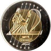2 E (Hungary Euro Fantasy Token) – reverse