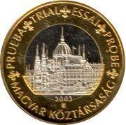 1 E (Hungary Euro Fantasy Token) – obverse