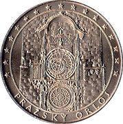 National Heritage Czech Republic - Prague Astronomical Clock – obverse