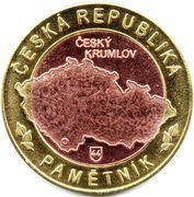 Token - Česká Republika Pamětník (Český Krumlov Zámek) – reverse