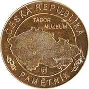 Token - Česká Republika Pamětník (Husitske Muzeum Tabor) – reverse