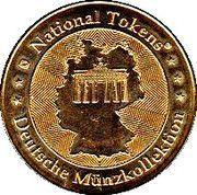 Token - National Tokens Deutsche Münzkollektion (Burg Montclair) – reverse