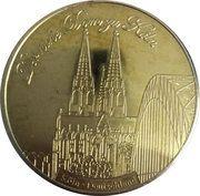Token - National Tokens Deutsche Münzkollektion (Köln - Cologne Cathedral) – obverse