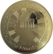 National Tokens Deutsche Münzkollektion - Cologne Cathedral – reverse